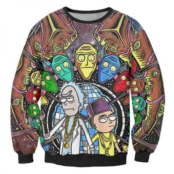Rick And Morty Infinity Stones Sweatshirt
