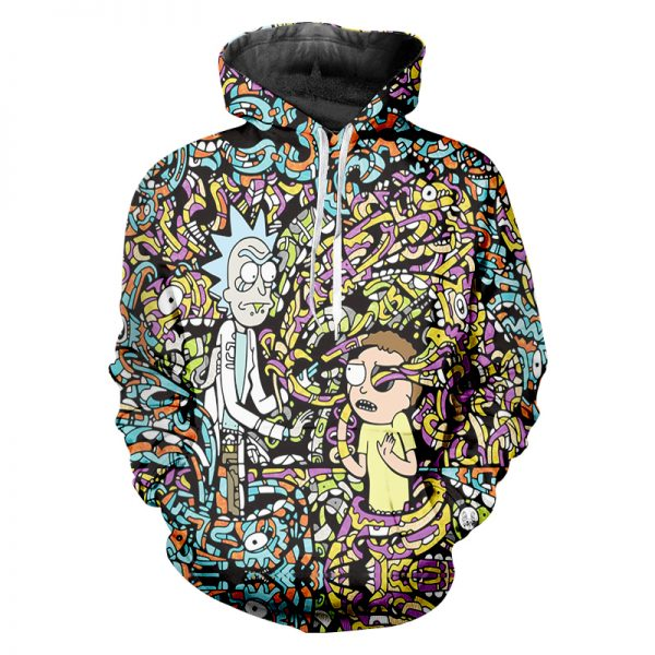 RIck And Morty New Item Hoodie
