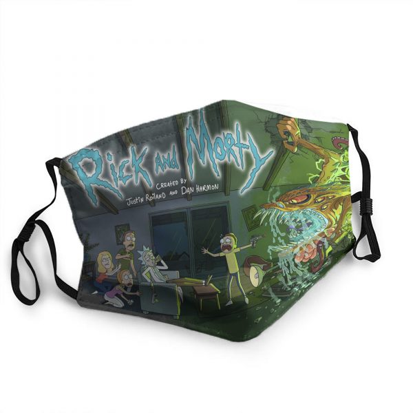 RicknMorty Hot Mask