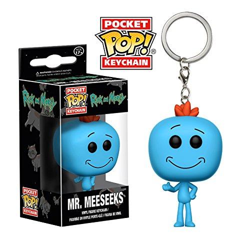 Mr.MeeSeeks Vinyl Keychain