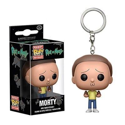Morty Smith Vinyl Keychain