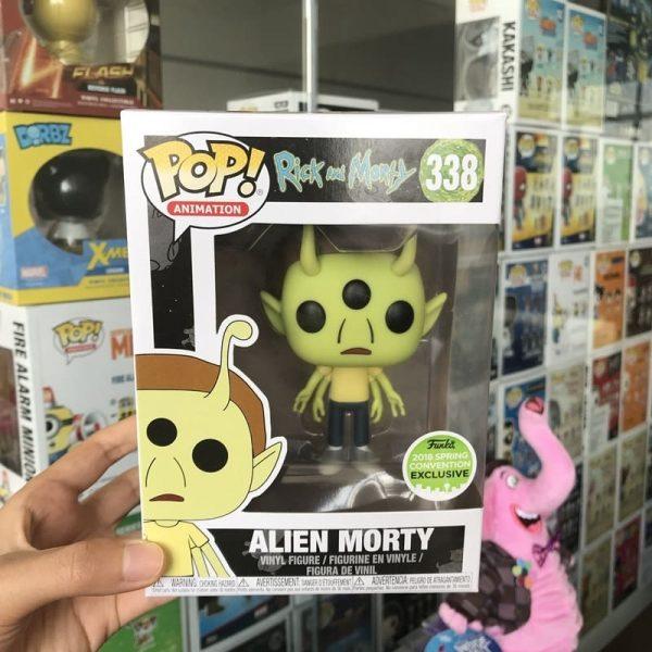 2020 Alien Morty Vinyl Action Figure