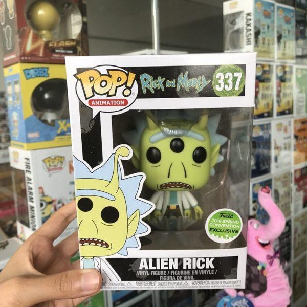 Alien Rick Vinyl Action Figure