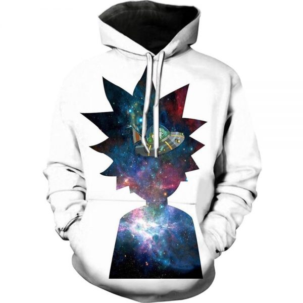 Rick And Morty Super Cool Galaxy Hoodie
