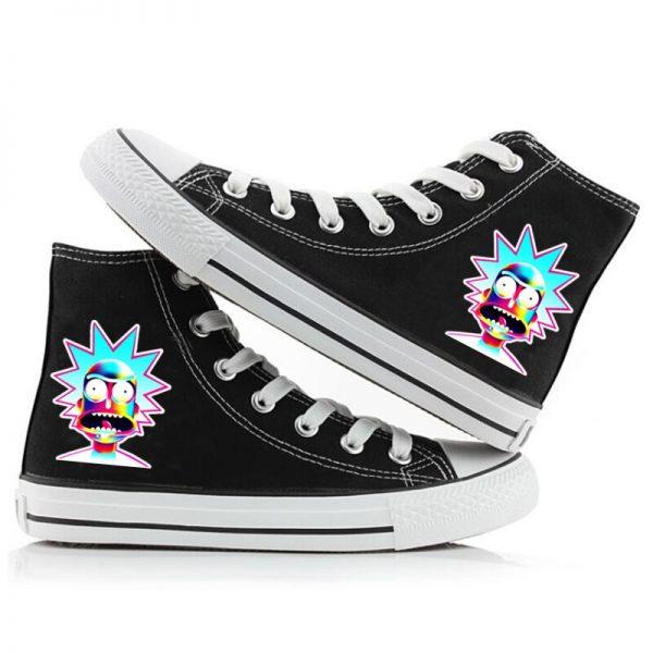 Rick Sanchez Super Cool Converse Shoes