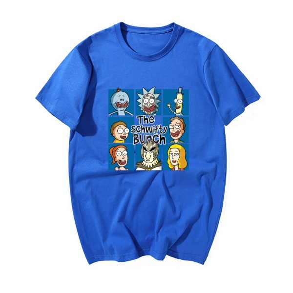 Funny Rick And Morty Summer T-shirts