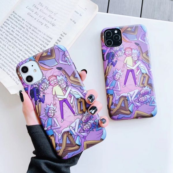 Hot Rick & Morty Case Cover For iPhone