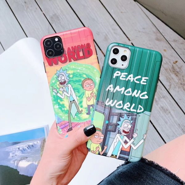 Awesome Rick & Morty Case For Iphone