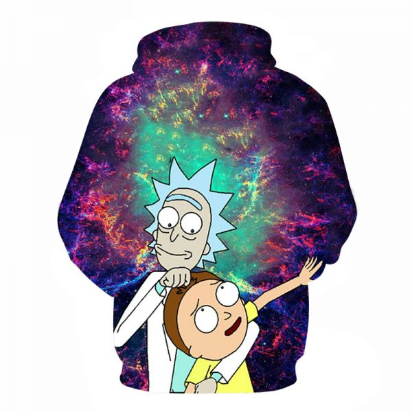 RicknMorty New Arrival 3D Hoodie