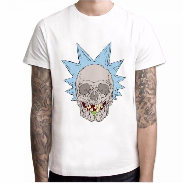 Skull Rick Sanchez T-shirt