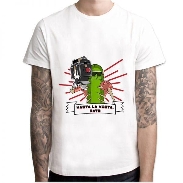 Pickle Rick Hot Summer T-shirt