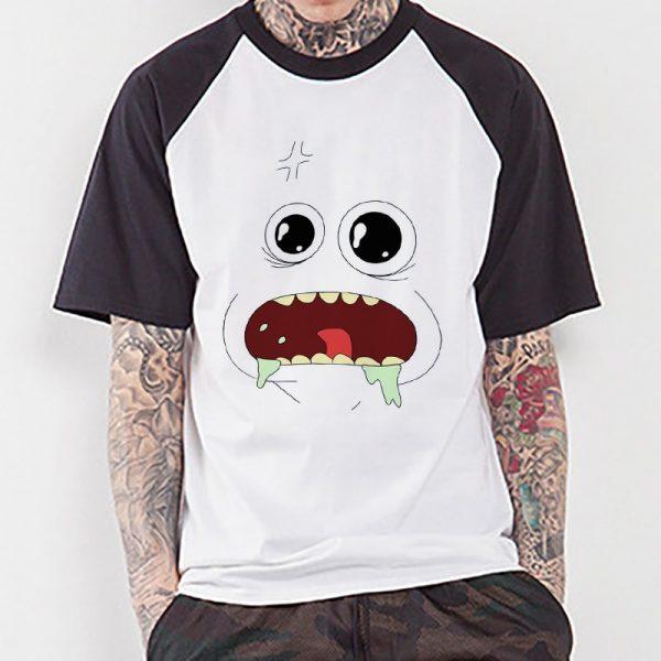 Mr Meeseeks Raglan T-shirt
