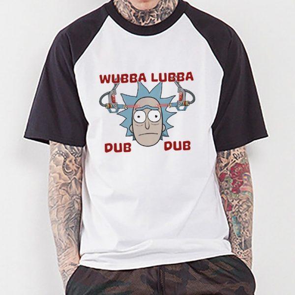Wubba Lubba Dub Dub Rick Raglan T-shirt