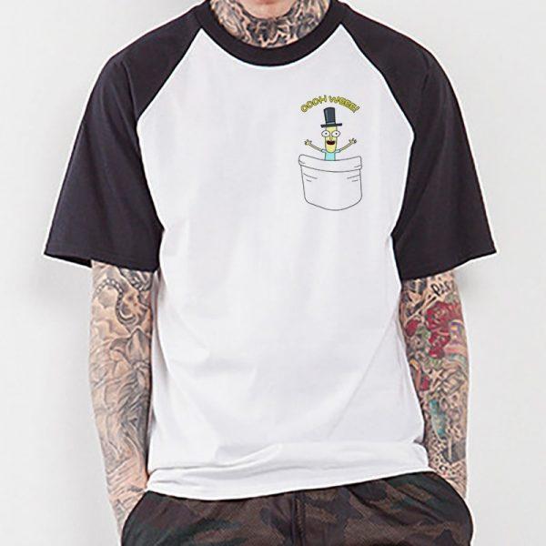 Mr. Poopybutthole Raglan T-shirt