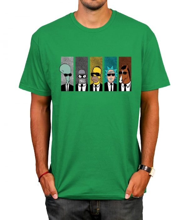 Hot Rick And Morty Cool T-shirt