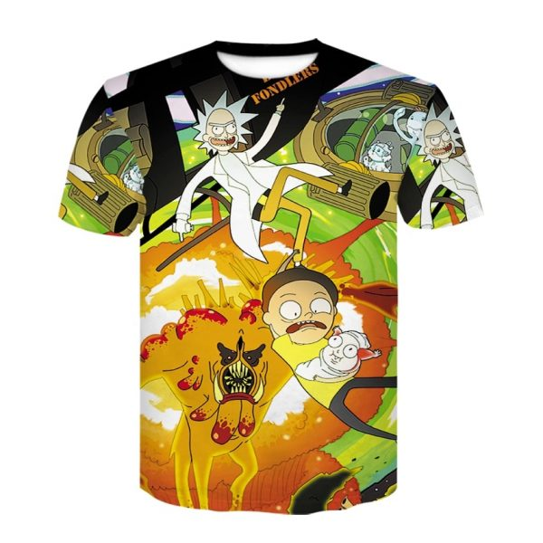 Rick And Morty Rescue 3D T-shirt