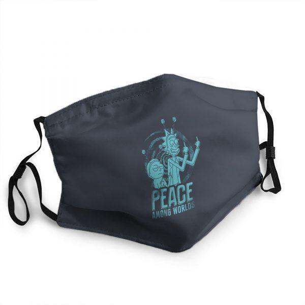 Peace Among Worlds Navy Blue Mask
