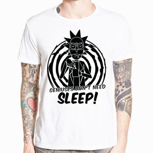 Genius Don't Need Sleep T-shirt