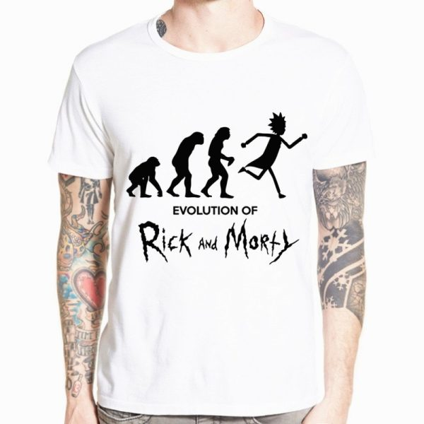Evolution Of Rick And Morty T-shirt