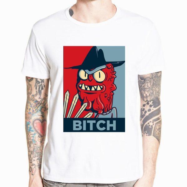 Blue & Red Bitch T-shirt