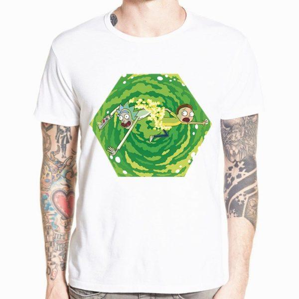 Rick and Morty Funny Anime T-shirt