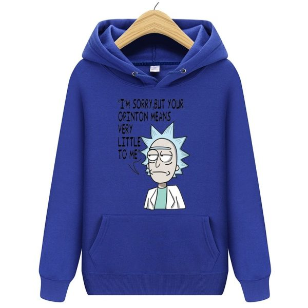 New Rick And Morty Winter Hoodies