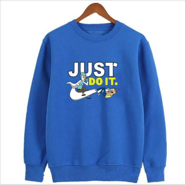 Rick And Morty Just Do It Sweatshirts