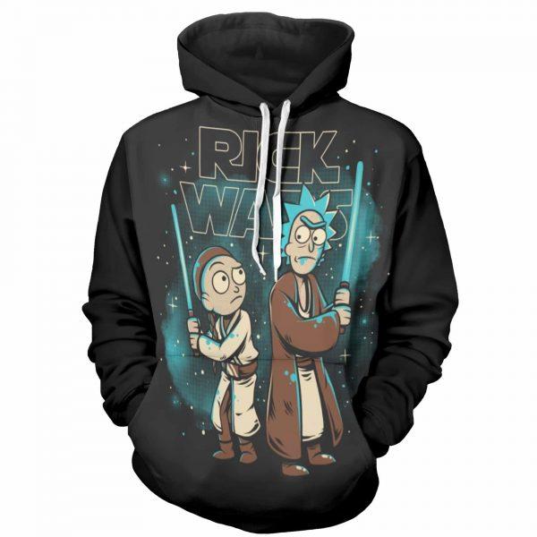 Starwars Rick & Morty Super Hot Hoodie