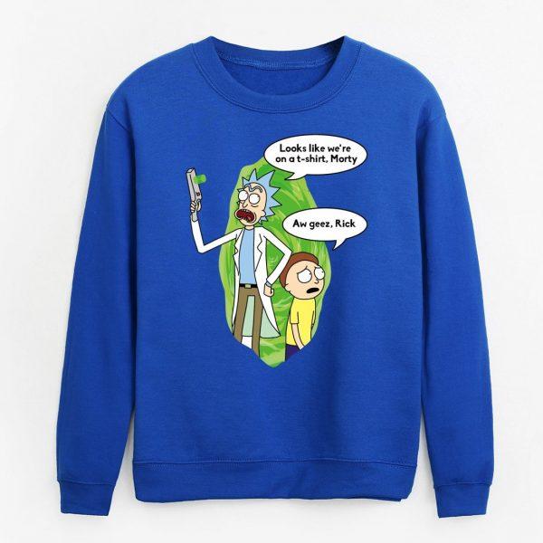 2020 Rick and Morty Men Sweatshirt