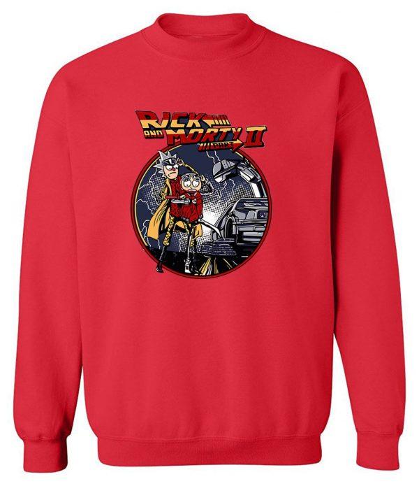New Fashion Rick And Morty Sweatshirt