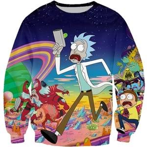 Humorous Rick Sanches 3D Sweatshirt