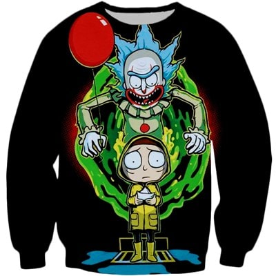 Rick And Morty Scary Sweatshirt