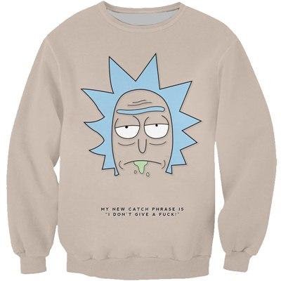Rick Sanches Sad Face Sweatshirt