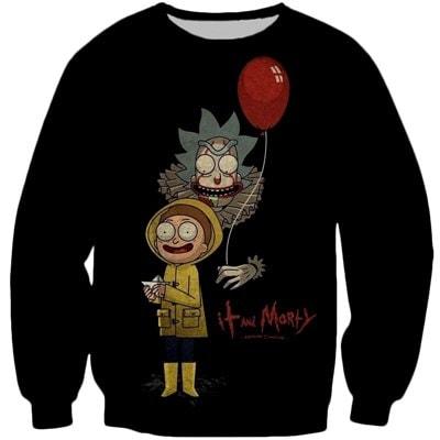 Rick And Morty Dark Night Sweatshirt