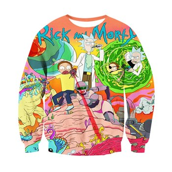 Rick And Morty Explore Sweatshirt