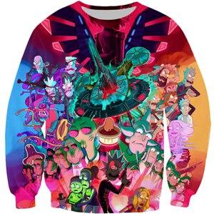 Rick And Morty New 3D Sweatshirt