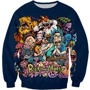 Rick And Morty Chaotic Sweatshirt