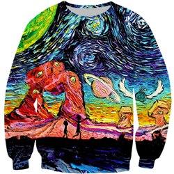 Rick And Morty Sunset Sweatshirt