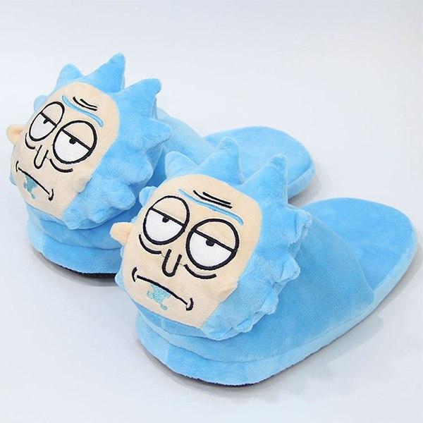 Rick Sanchez Warm Plush Shoes