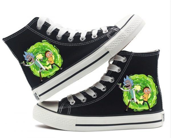 Rick And Morty Basic Converse Shoes