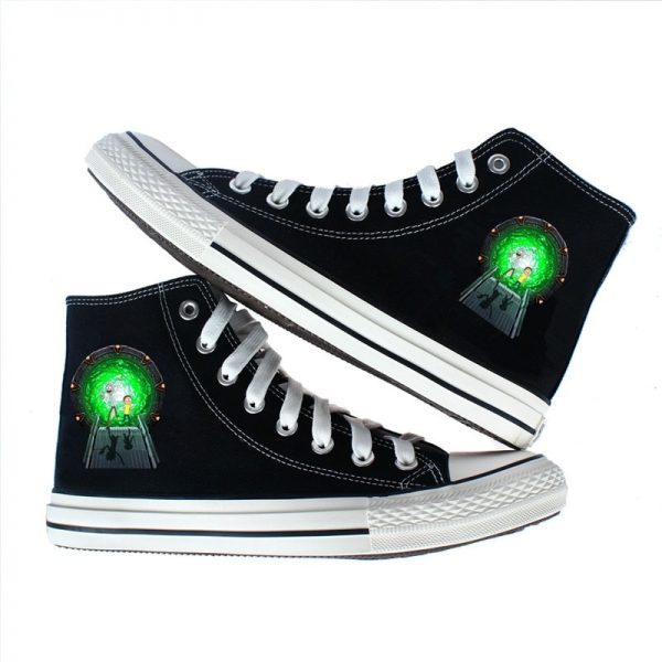 Rick And Morty Converse Shoes