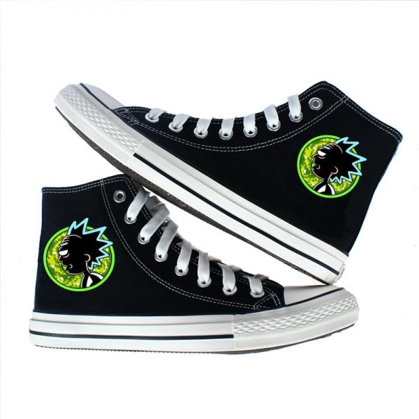 Rick Sanchez Icon Converse Shoes