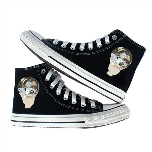 Crystal Ball Rick Sanchez Converse Shoes