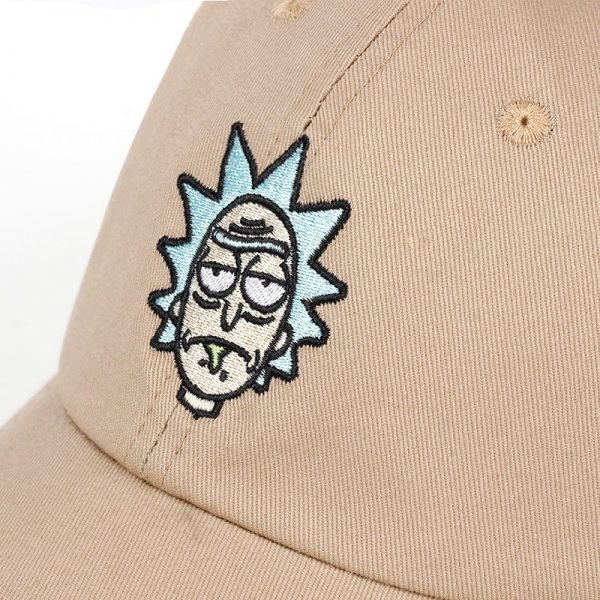 Animation Cosplay Rick and Morty Caps
