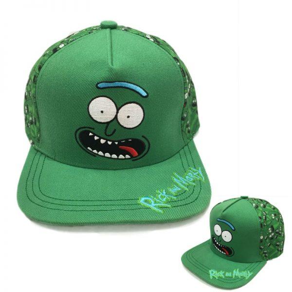 Pickle Rick Cool Cap