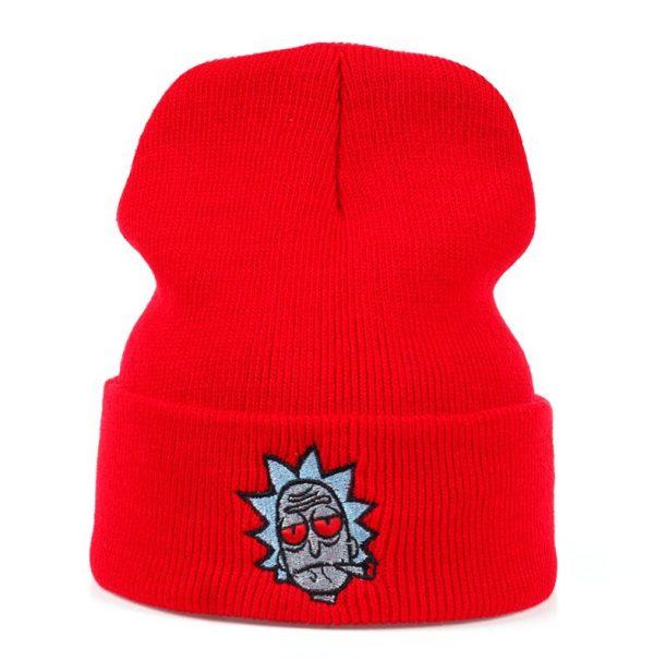 2020 Rick Sanchez Smoking Knitted Hats