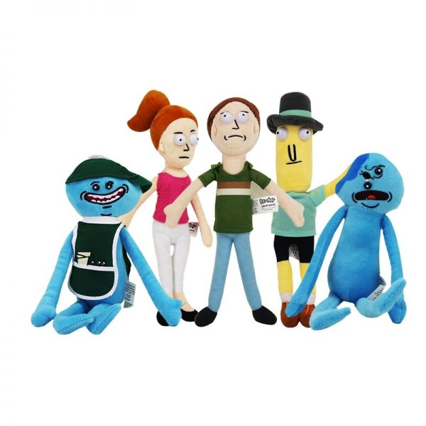 13 Style New Animation Rick and Morty Plush