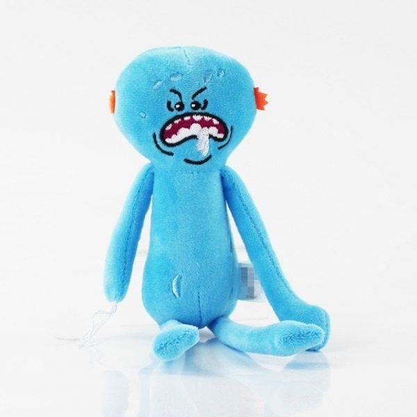 Mr. Meeseeks Stuffed Doll Plush Toy
