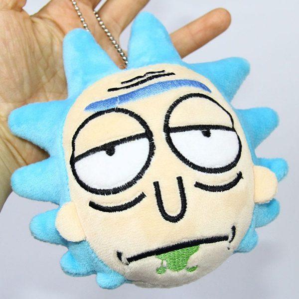 Rick Sanchez Stuffed Plush Keychain