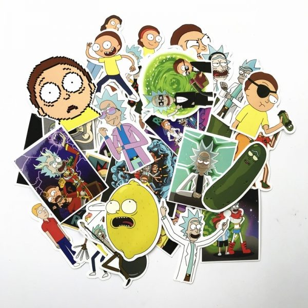 69Pcs/lot Cute Rick and Morty [ Pack of 3 ]